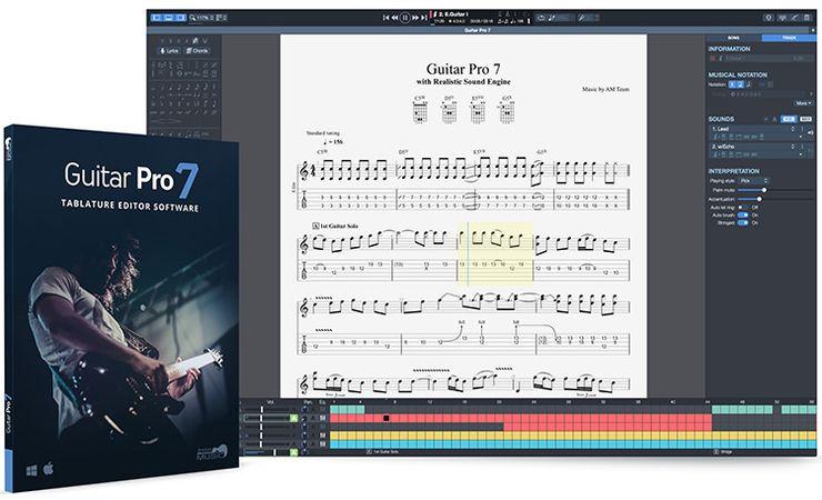 Guitar Pro 7.5.5 WIN