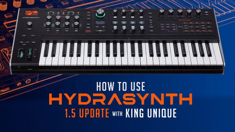 ASM Hydrasynth 1.5 TUTORiAL-SYNTHiC4TE