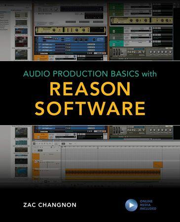 Audio Production Basics with Reason Online Content WAV MiDi