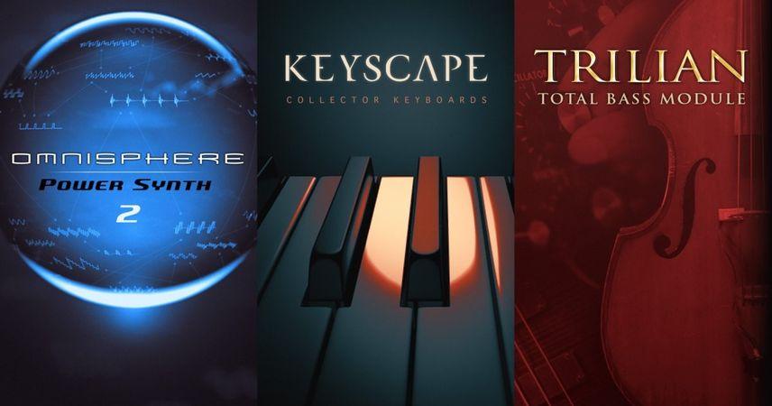 Omnisphere , Keyscape & Trilian WIN MAC