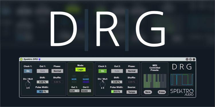 Spektro DRG v1.0 For MAX 4 LiVE-FLARE